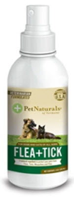 Keep pesky pests off of your pet with a natural flea and tick repellent.