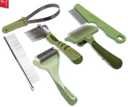 High quality grooming tools to make your dog's coat look and feel better than ever! Available from www.carolesdoggieworld.com