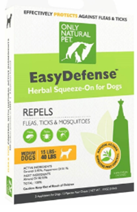 Protect your pet from fleas, ticks and mosquitoes the safe and effective way! Using the power of natural Geranium and Peppermint plant extracts, these are completely non-toxic and absolutely safe for your dog and family. Available from www.carolesdoggieworld.com