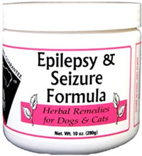 Provides relief from the effects of epilepsy. Contains Cohosh, Vervain, Lobelia, Passion Flower, Scullcap, Valerian Root and Soy Powder.